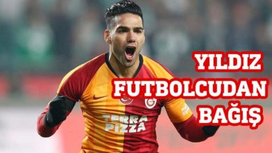 Photo of Falcao 3 bin maske bağışladı