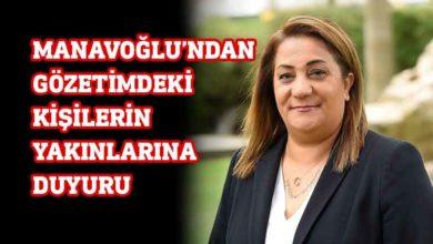 """Photo of Manavoğlu'ndan """"Önemli Duyuru"""""""