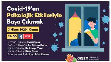 Photo of GİGEM'den psikologlar eşliğinde canlı yayın