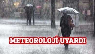 Photo of Meteoroloji'den şiddetli yağış uyarısı