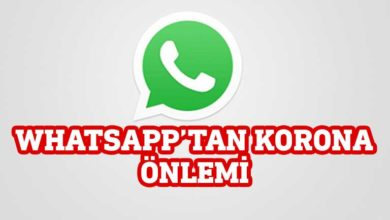 "Photo of WhatsApp'a ""korona bulaştı"""