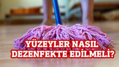 Photo of Tabipler Birliği, yüzeylerin nasıl temizlenmesi gerektiği hakkında bilgiler verdi