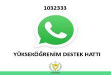 Photo of 'Yükseköğrenim Whatsapp Destek Hattı' devreye giriyor
