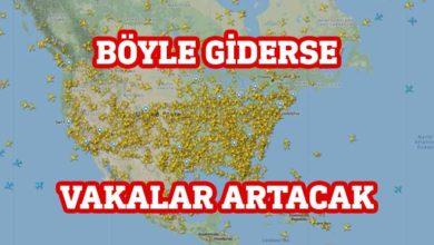 Photo of ABD hava trafiğindeki yoğunluk radara yansıdı