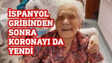 Photo of 104 yaşındaki Zadusso önce İspanyol gribini sonra da koronavirüsü yendi