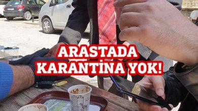 Photo of Arasta'da karantina koşullarına uyan yok