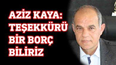 Photo of Aziz Kaya'dan Sağlık Bakanlığı'na ince mesaj
