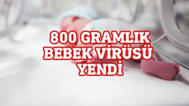 Photo of İran'da 800 gram ağırlığındaki bebek corona virüsü yendi