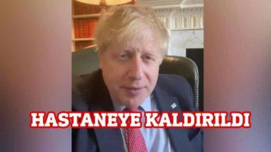 Photo of İngiltere Başbakanı Boris Johnson hastaneye kaldırıldı