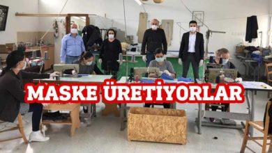 Photo of Cezaevinde maske üretimi başladı
