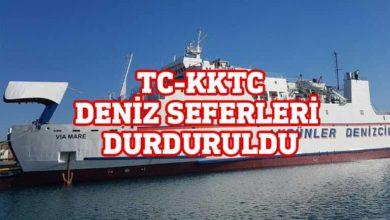 Photo of TC ile KKTC arasında deniz ulaşımı durdu!