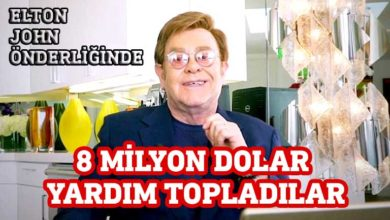 Photo of 8 milyon dolar yardım topladılar