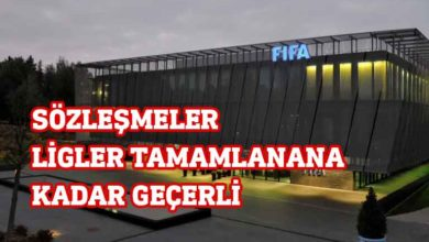 Photo of FIFA'dan futbolcu sözleşmeleri ile ilgili kritik karar