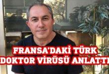 Photo of Türk doktor virüsü anlattı