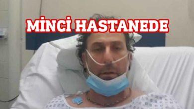 Photo of Hasan Minci hastanede tedavi görüyor
