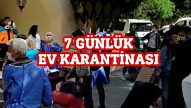 Photo of Karantina süresi tamamlanan öğrenciler evlerine gönderiliyor