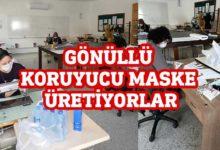 Photo of Alkışlar Gazimağusa Meslek Lisesi gönüllülerine