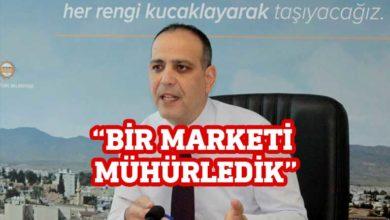 Photo of Mehmet Harmancı: Bir marketi mühürledik