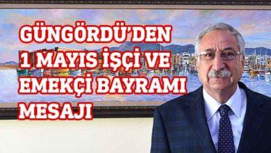 """Photo of Güngördü, """"1 Mayıs İşçi ve Emekçi Bayramı""""nı kutladı"""