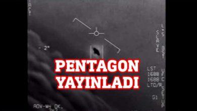 Photo of Pentagon, UFO görüntüleri yayınladı