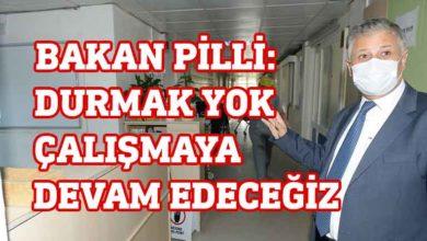 """Photo of Pilli: """" Kovid-19 ile savaşırken,  hastanemizin yaralarını da sardık"""""""