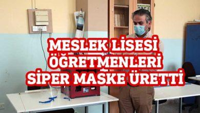 Photo of 3D teknolojisi kullanarak siper maske üretimi yaptılar