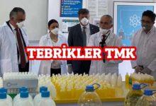 Photo of TMK Öğretmenleri kolonya üretti: Golonya 80