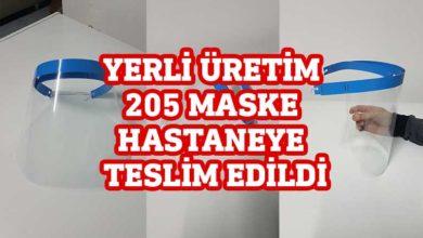 Photo of Şeffaf maskeler Mağusa Hastanesi'ne teslim edildi