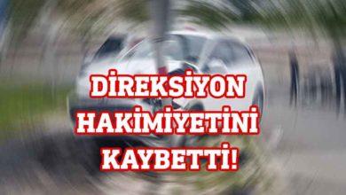 Photo of Lefkoşa'da çarpışma: Ucuz kurtuldu