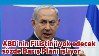 Photo of Netanyahu: Batı Şeria'nın yüzde 30'unu ilhak edeceğiz