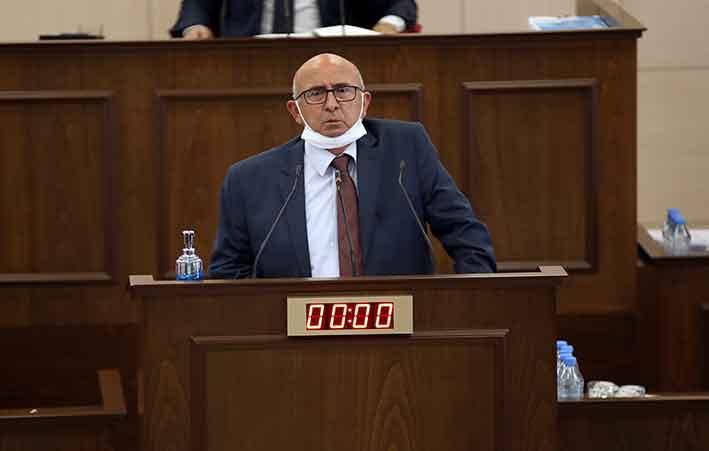 Toplumcu Demokrasi Partisi Genel Başkanı Cemal Özyiğit