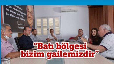 Photo of Ataoğlu, Güzelyurt Sanat Dernekleri Platformu'nu ziyaret etti