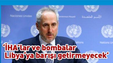 Photo of BM Sözcüsü Dujarric: Mesajımız çok açık; bombardımanı durdurun