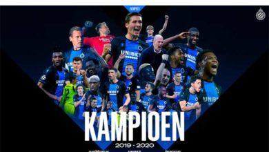 Photo of Belçika Ligi tescil edildi,  Club Brugge şampiyon oldu