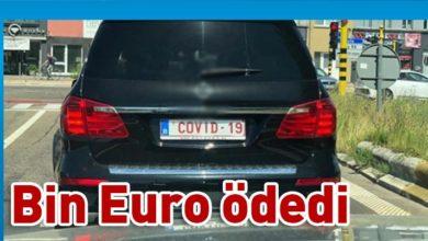 Photo of Arabasının plakasını 'Covid-19' yaptırdı