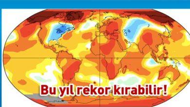 Photo of Dünya Meteoroloji Örgütü uyardı