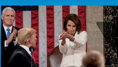 """Photo of Trump ve ABD Temsilciler Meclisi Başkanı Pelosi arasında """"şişko"""" polemiği"""