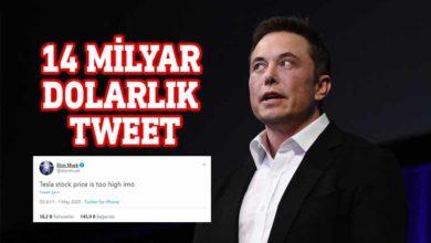 Photo of Bir tweetiyle 14 milyar Dolar kaybetti