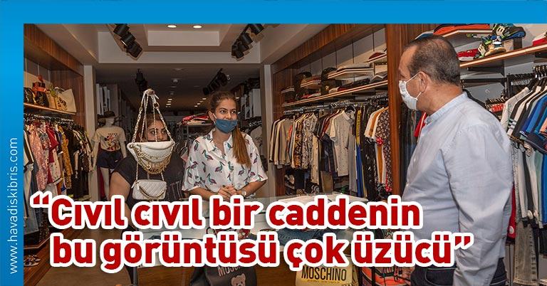 Demokrat Parti (DP) Genel Başkanı Fikri Ataoğlu, Girne esnafını ziyaret ederek, esnafın sorunları ve çözüm önerilerini tek tek dinledi