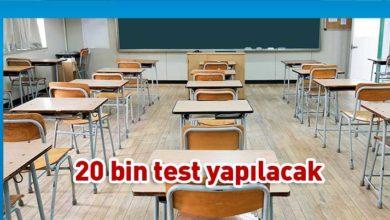Photo of Güney'deki okullarda 3.000 test yapıldı