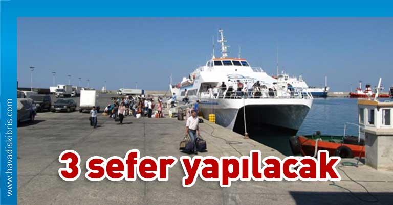 Girne Taşucu deniz seferi