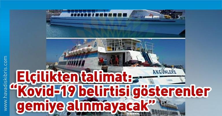 Girne-Taşucu Deniz Otobüsü seferleri başladı, planlanan 3 seferden ilki bu sabah gerçekleştirildi. Girne-Taşucu arasında Pazartesi ve Çarşamba günü de sefer var.
