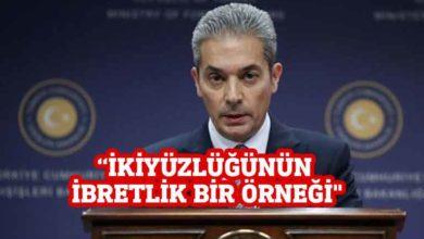 Photo of Türkiye'den 5 ülkenin bildirisine tepki