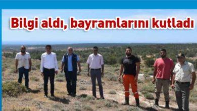 Photo of Tarım Bakanı Oğuz, YHK ekipleri ve yangın kule gözcüleri ile biraraya geldi