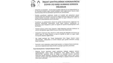 Photo of Açılacak iş yerlerinde alınması gereken önlemler belirlendi