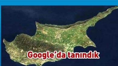 Photo of Google, KKTC'yi tanıdı