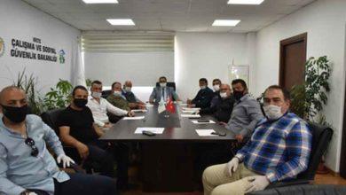 Photo of Kar-İş yetkilileri sıkıntılarını Bakan Sucuoğlu'na aktardı