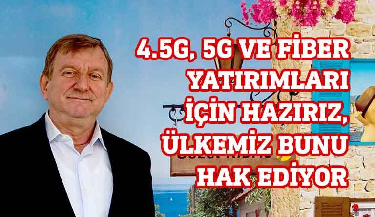 Kuzey Kıbrıs Turkcell Genel Müdürü Harun Maden