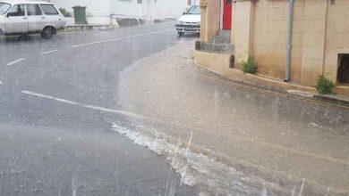 Photo of Lefke'de yollarda yağmur suları sel oldu aktı