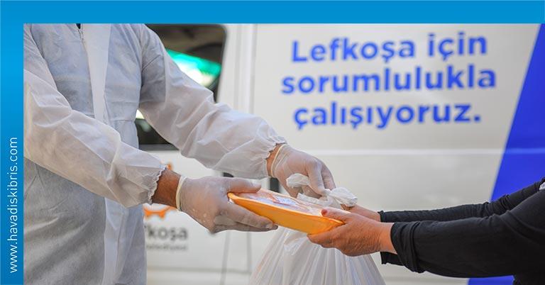 """Lefkoşa Türk Belediyesi (LTB) tarafından gıda ihtiyacı olan kişi ve ailelere katkıda bulunmak amacıyla yapılan """"Paylaşarak Başaracağız"""" kampanyası sona erdi"""
